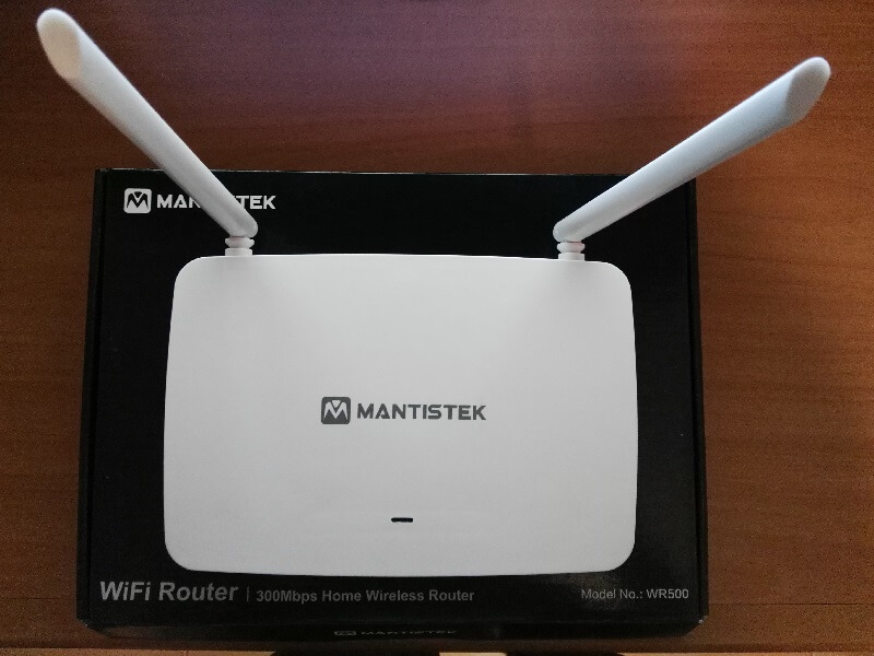 Modem wireless Mantistek WR500, economico e semplice da installare