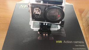 Action cam Siroflo H9R, con tecnologia di riprese video a 4K Ultra HD a 25 fps