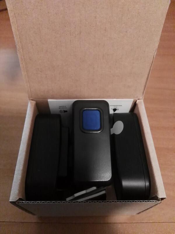 Campanello wireless per la casa di winn tech aiteq - Campanello casa senza fili ...