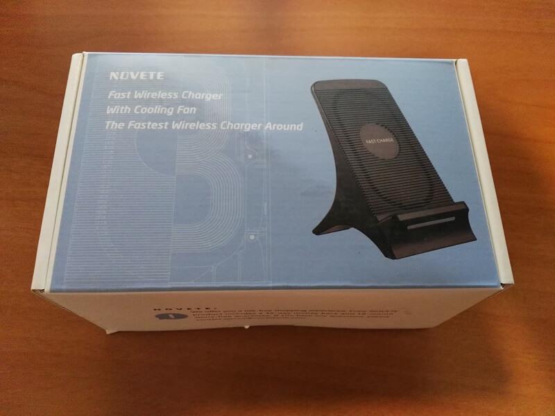 Caricabatterie senza fili Novete, supporto di ricarica rapida per i dispositivi compatibili