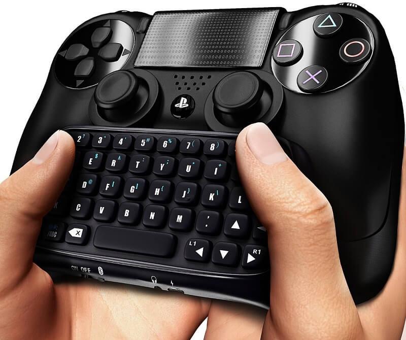 Tastiera BlueBeach con funzione di chatpad da collegare al joypad PS4