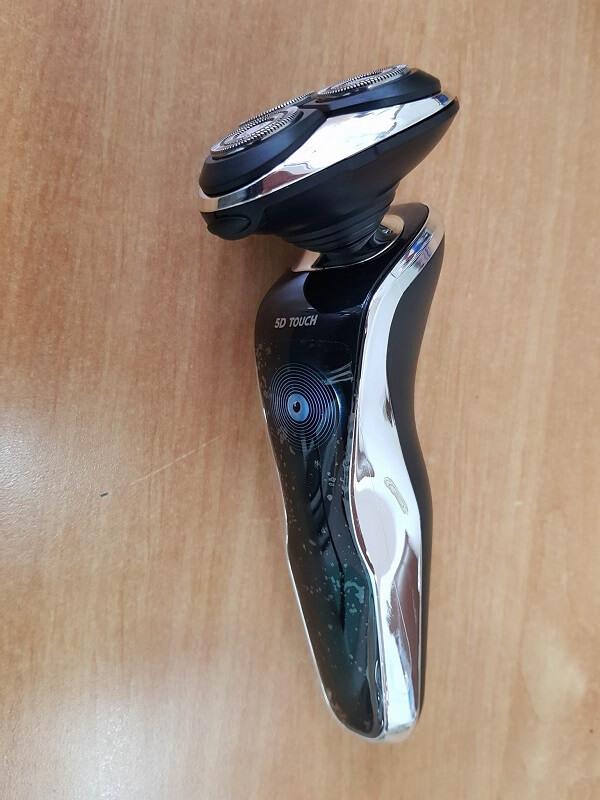 Rasoio elettrico 5D Touch con kit di ricarica USB impermeabile