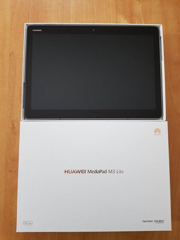 Unboxing del tablet Huawei Mediapad M3 Lite da 10 pollici