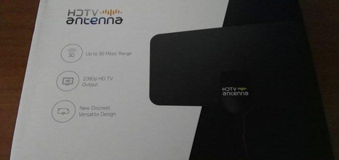 Antenna TV esterna HD Fox per il segnale del digitale terrestre