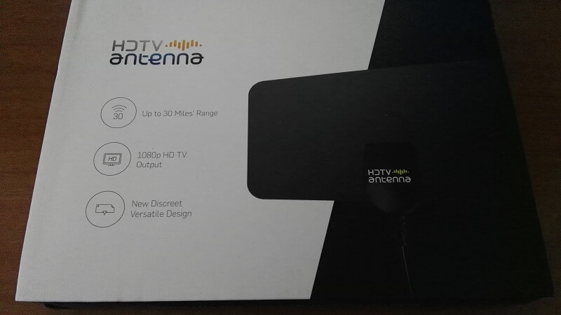 Antenna TV esterna HD Fox per il segnale del digitale terrestre