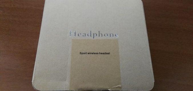 Auricolari wireless con cuffietta magnetica per l'attività sportiva
