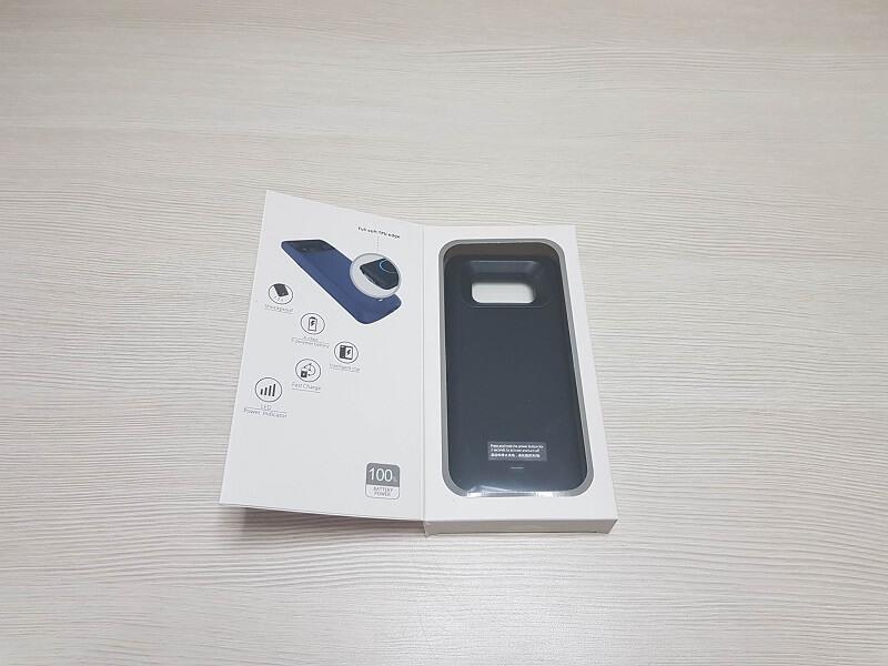 Cover con batteria Bovon da 5.000 mah per Samsung Galaxy S8