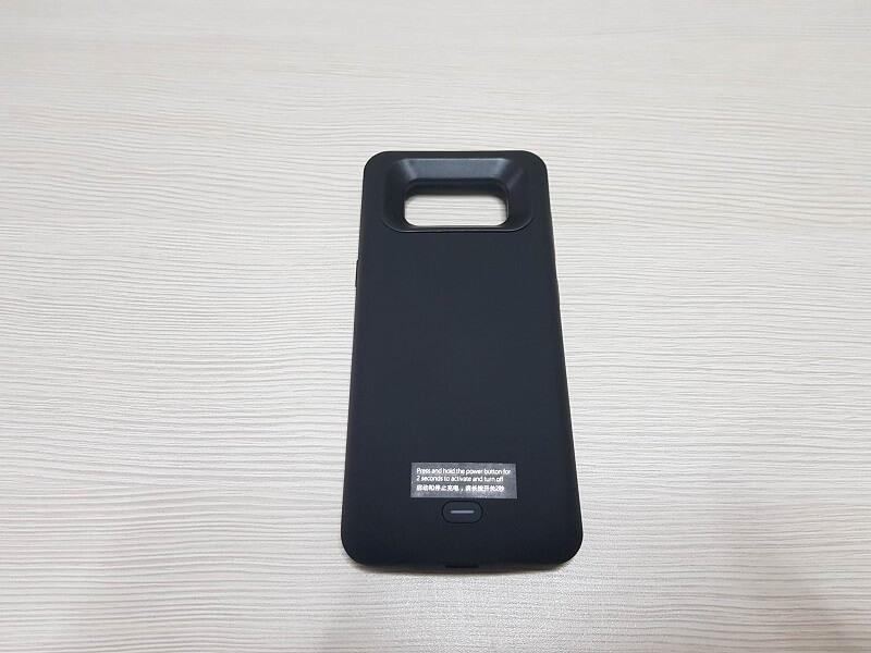 Custodia con batteria integrata a lunga durata di per Samsung Galaxy S8