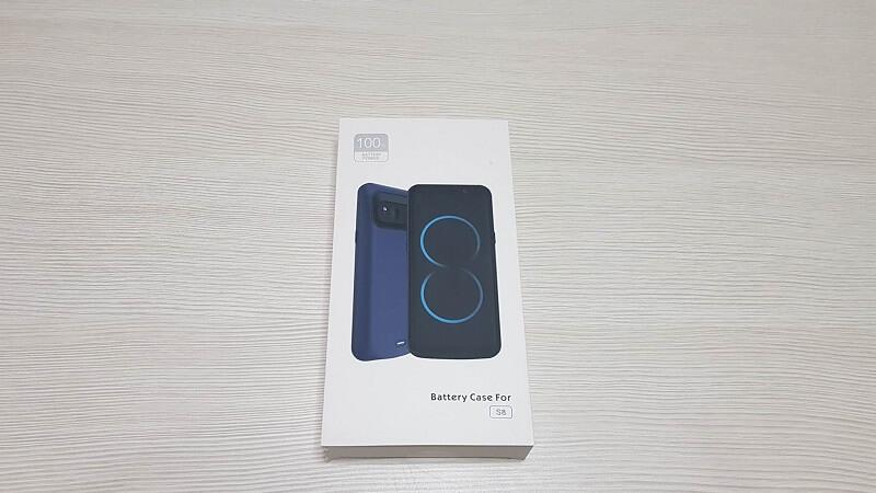 Custodia con batteria esterna integrata di Bovon per Galaxy S8