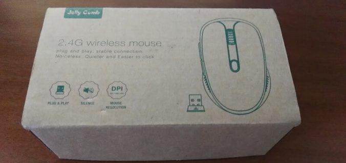 Mouse ottimo senza fili, 6 pulsanti, alto DPI della marca Jelly Comb