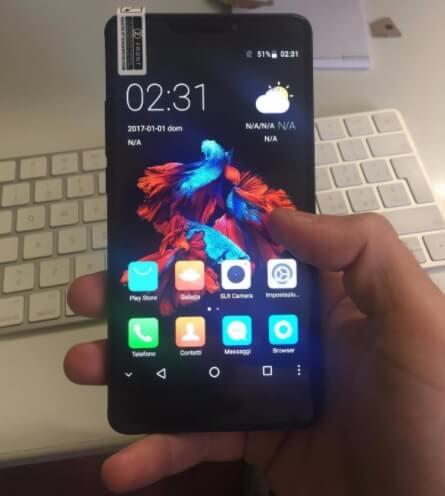 Smartphone Bluboo BL-DL-ROSE-0707, dual 4G LTE