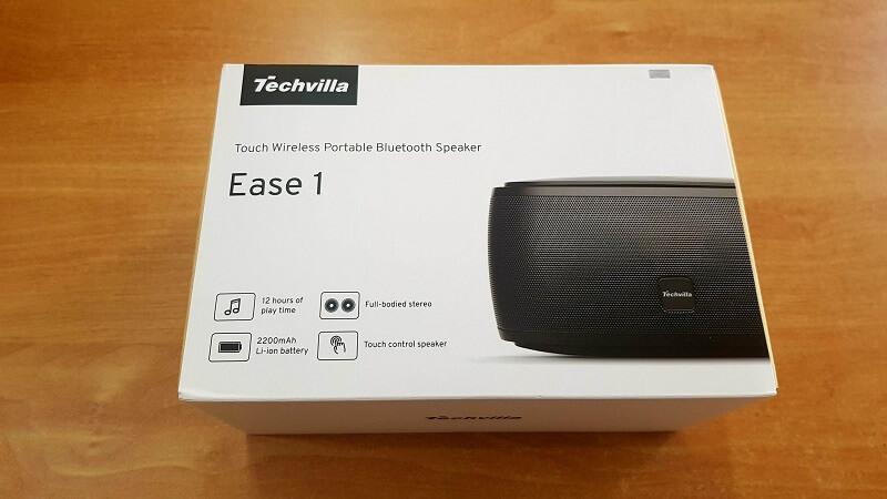 Speaker/altoparlante audio Techvilla, bluetooth 4.1 e microfono integrato