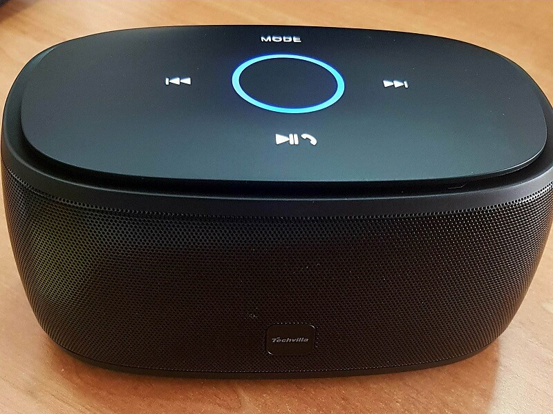Altoparlante audio e microfono, bluetooth 4.1, Techvilla