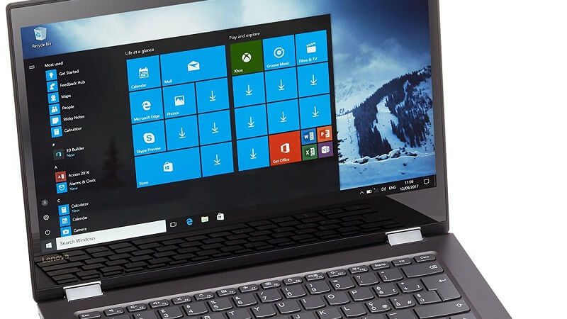 "PC Lenovo Yoga 520 14-ikb, con 256 Gb di SSD, 8 Gb di ram e display FullHD da 14"""