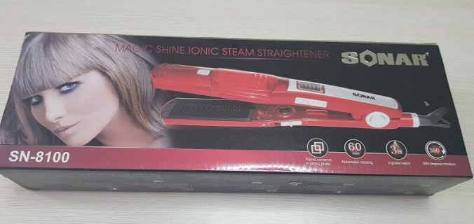 Piastra per capelli professionale di marca Sonar, SN-8100