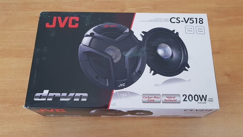Casse audio per auto JVC-CS-V518 da 200 watt