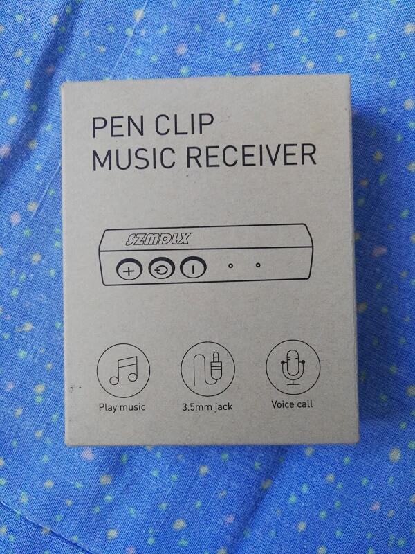 Pen clip music receiver, così viene chiamato il SZMDLX, ricevitore BT