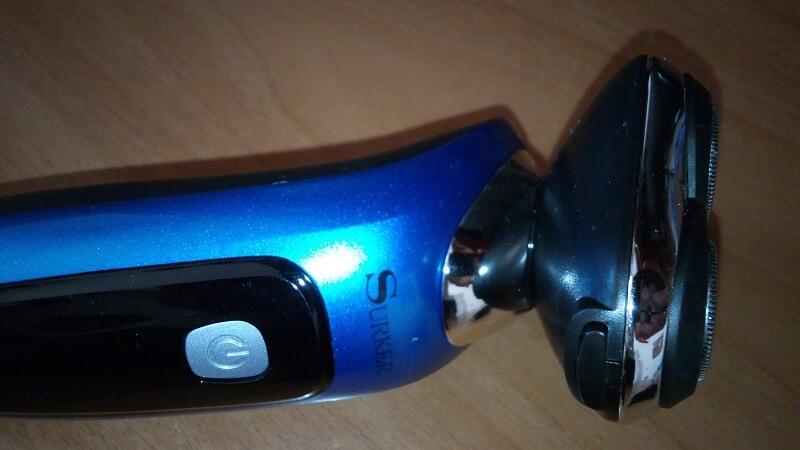 Rasoio elettrico Surker 3 in 1, modello RSCX-9598