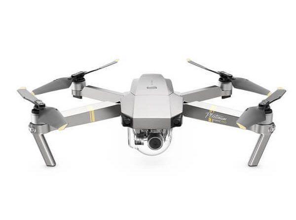 DJI Mavic PRO Platinum, drone professionale portatile