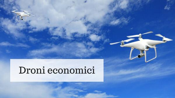 Droni economici, i migliori dal web - AiTeq.org