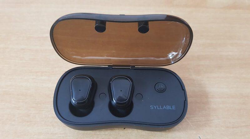 Cuffie senza fili Syllable D900p, stereo, bluetooth 5.0 e con ricarica nel cofanetto
