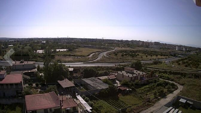 Foto del panorama scattata con il drone Potensic T35