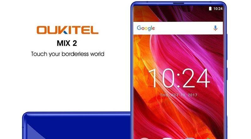 Smartphone Android Oukitel Mix 2, schermo HD e batteria da 4080 Mah