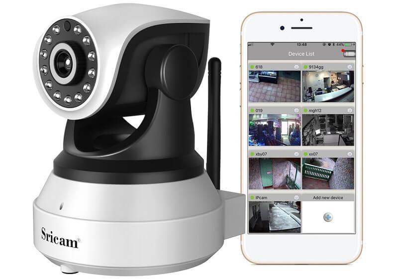 Sricam SP017, telecamera di videosorveglianza con rilevazione di movimento notturno