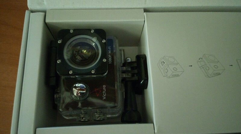 Action cam Victure AC400, FullHD super accessoriata