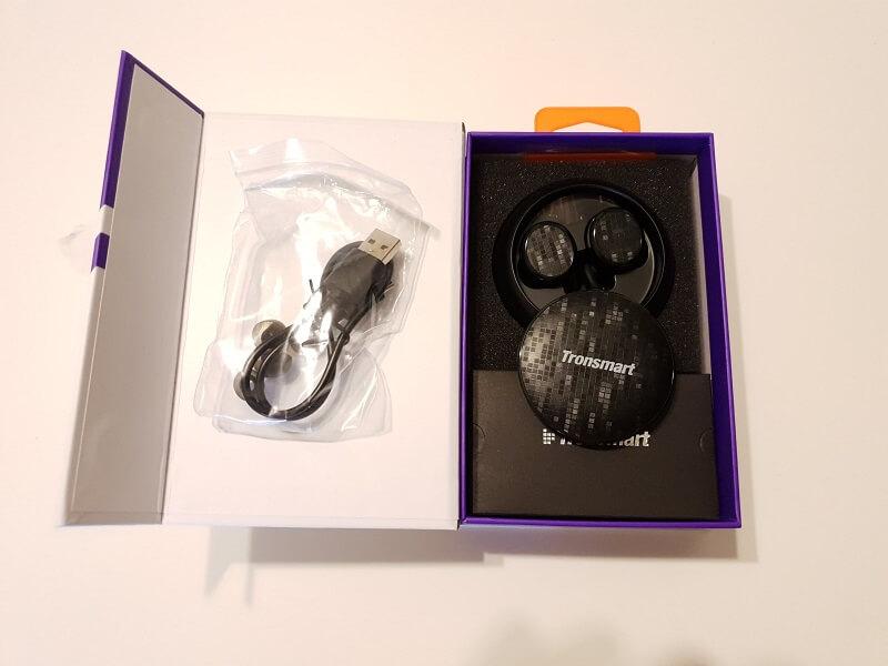 Confezione Tronsmart, auricolari senza fili in-ear
