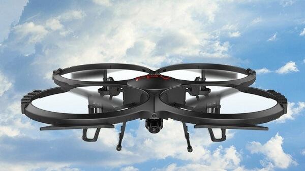 DBPower U818A, drone economico con videocamera HD