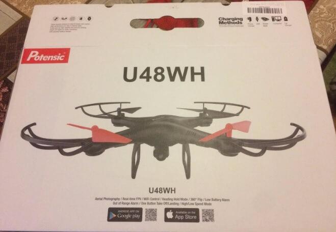 Confezione del drone Potensic U48WH