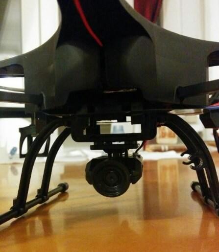 Videocamera HD 720p del quadricottero DBPower U818A