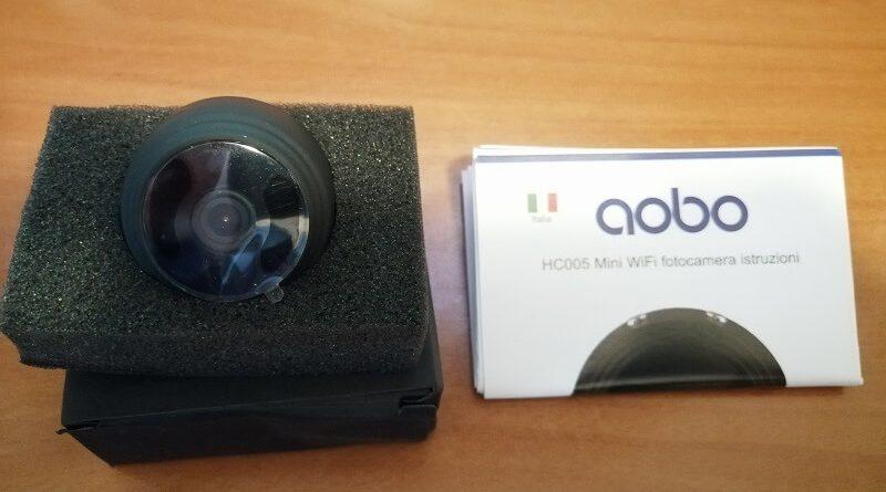Microcamera di sorveglianza AOBO da esterno per casa