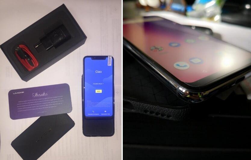 "Smartphone Umidigi One, schermo da 5,9"" HD"