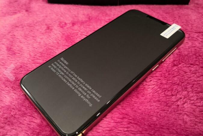 Smartphone Umidigi A3 PRO nero con Android 8.1