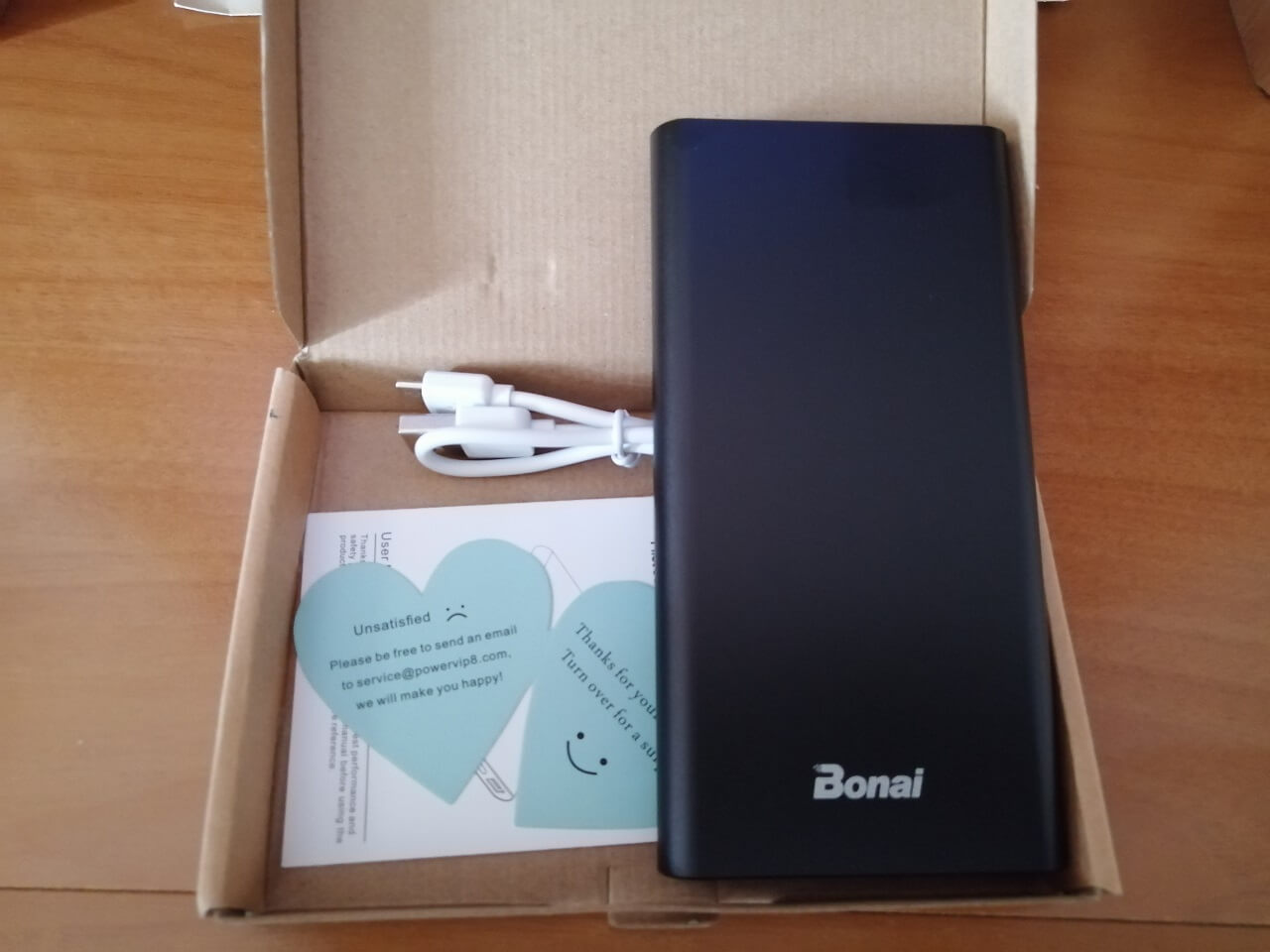 Power bank portatile Bonai da 13.800 Mah