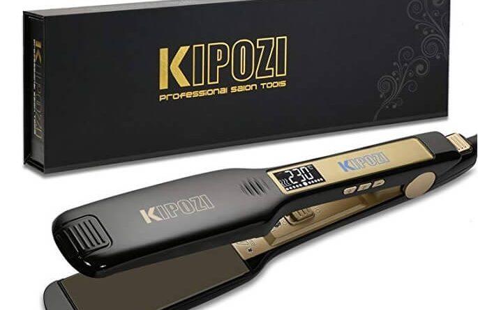Piastra professionale per capelli Kipozi
