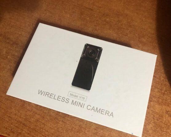 Kean V19, telecamera nascosta, microspia