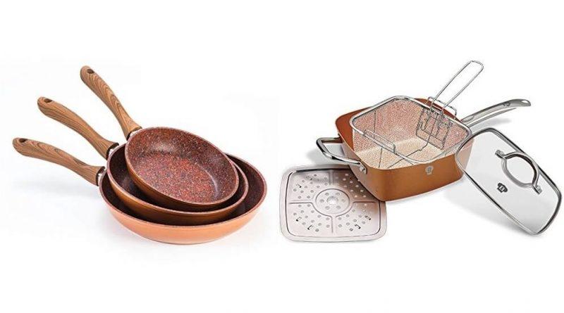 10 migliori padelle professionali Copper ultraresistenti