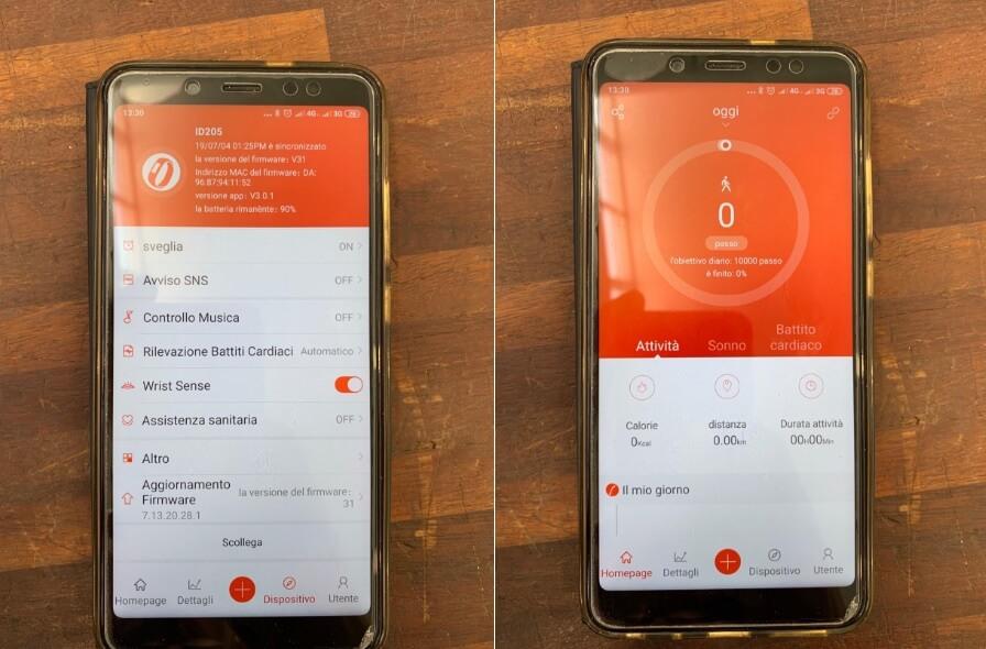 VeryFit App per smartwatch Arbily