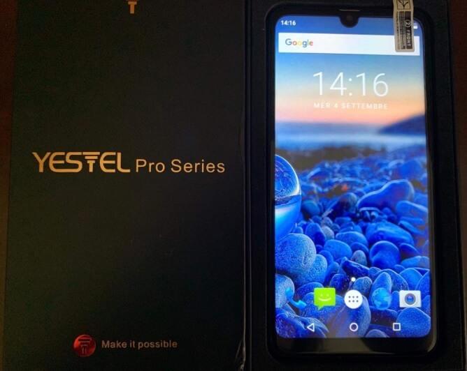 Smartphone Yestel P30, clone di Huawei